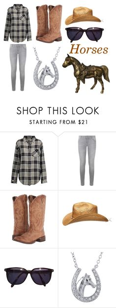 """""""Horses"""" by emily-unicorn123 ❤ liked on Polyvore featuring Current/Elliott, Maje, Roper, Dorothy Perkins and Sonia Rykiel"""