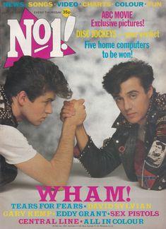 No 1 featuring Wham! Hit Songs, News Songs, Abc Movies, Eddy Grant, Gary Kemp, Martin Kemp, Tracey Ullman, 1980s Childhood, Childhood Memories