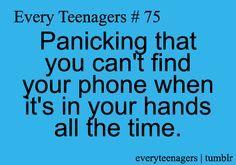 I ALWAYS freak you when that happens!!!