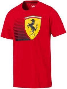 Camiseta Puma Scuderia Ferrari Big Shield - Vermelho  829df775a17