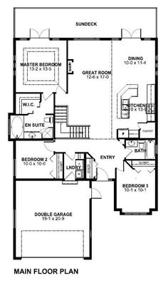 1000 images about less than 40 foot wide floor plans on for 40 ft wide house plans