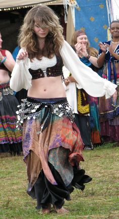 Belly dancer...