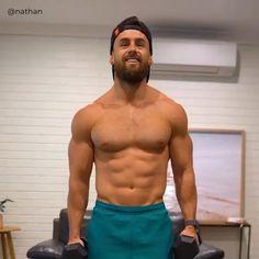 Shoulder Workout Routine, Shoulder Workout At Home, Workout Routine For Men, Shoulder Dumbbell Workout, Boulder Shoulder Workout, Shoulder Exercises, Gym Workout Chart, Gym Workout Videos, Gym Workout For Beginners