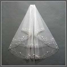 Hey, I found this really awesome Etsy listing at https://www.etsy.com/listing/217788350/bridal-veil-comb-elbow-length-bridal