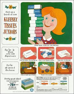 Lionel Kalish for Kleenex Tissues, 1966 - Lionel Kalish