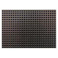 Metallic Steel Grid Pattern ~ Cutting Board