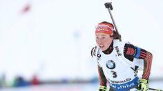 Goldener Coup bei der Biathlon-WM: Dahlmeier holt WM-Titel in der Verfolgung