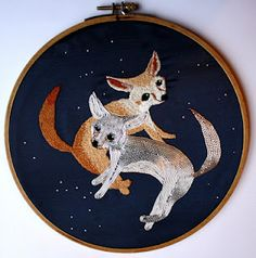 foxes by Sister Twisty