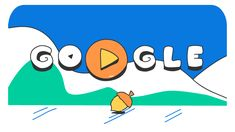 February 22, 2018 Doodle Snow Games - Day 14//must click through for animation