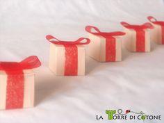 Scatolette regalo fai da te.  Handmade small box gift