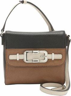 GUESS Jonsi mini crossbody flap - Handbags.com 9de43fa58cf06