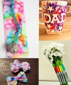 Homemade Gifts using Sharpies - The Realistic Mama