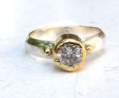 Engagement ring, holidays sale, silver ring, solid gold ring, similar diamond ring, white topaz stone ring