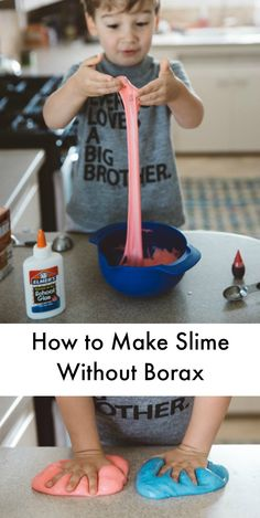 How to make slime wi
