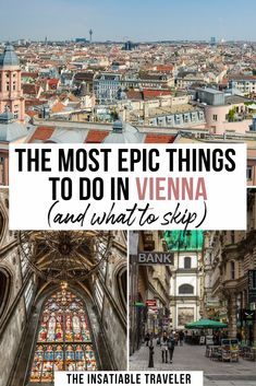 The most epic things to do in Vienna (and what to skip! Vienna is a beautiful city: There are so many great things to do in Vienna, Austria. This guide will tell you what not to miss in Vienna. What to do in Vienna Europe Travel Guide, Travel Destinations, Stuff To Do, Things To Do, Austria Travel, Europe Photos, Explore Travel, Vienna Austria, Travel Images
