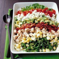 Turkey Cobb Salad Recipe