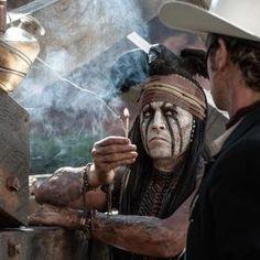 Hi-ho Tonto! Sidekick takes center saddle in Johnny Depp's 'Lone Ranger' - NYPOST.com