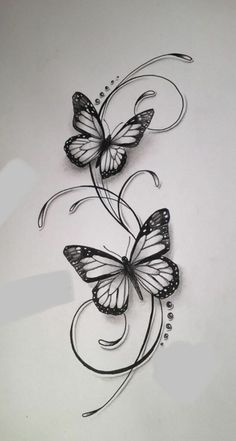 Schmetterlinge tattoos tattoo designs, tattoo drawings и butterfly tattoo. Mini Tattoos, Cute Tattoos, Beautiful Tattoos, Leg Tattoos, Body Art Tattoos, Sleeve Tattoos, Tattoo Arm, Tattoos Skull, Tattoo Flash