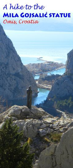 Great views just outside our favorite Croatian town: http://bbqboy.net/hike-mila-gojsalic-statue-omis-croatia/  #omis #croatia