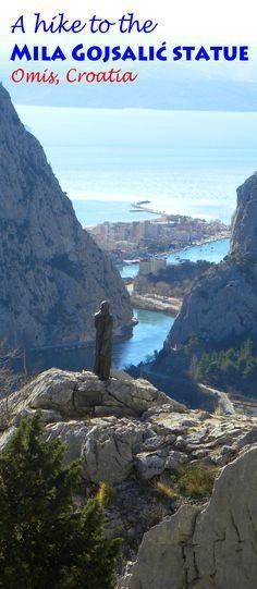 Great views just outside our favorite Croatian town: http://bbqboy.net/hike-mila-gojsalic-statue-omis-croatia/  #omis #croatia