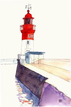Le Guilvinec Lighthouse ©FanchMao | Finistère Bretagne