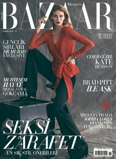 Harper's Bazaar Turkey November 2012