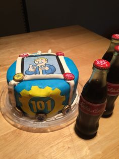 15 Best Fallout Cake Images In 2016 Birthday Ideas