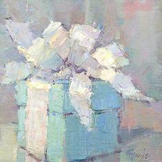 Surprise Me by Nancy Franke Oil ~ 12 x 12