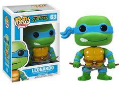 Leonardo Teenage Mutant Ninja Turtles Pop! Heros Funko NIB TMNT new in box 63…