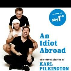 An Idiot Abroad ...Ricky's laugh makes me laugh! Poor Carl lol! LOVE this show!!!