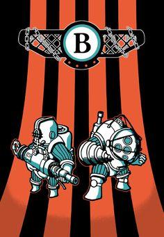 Big Daddies - BioShock - who93.deviantart.com