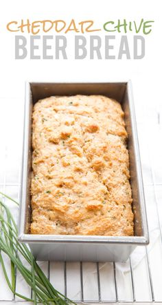 back to her roots cheddar chive beer bread cheddar chive beer bread ...
