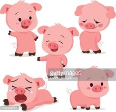 image result for free printable pig cartoon images