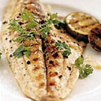 Grilled Pompano with Tangy Ginger Sauce Recipe - Marcia Kiesel Sauce Recipes, Fish Recipes, Seafood Recipes, Dinner Recipes, Thai Recipes, Grouper Recipes, Seafood Menu, Grill Recipes, Seafood Dishes