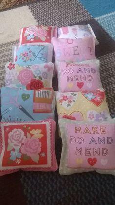 handmade catnip pillows