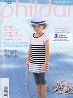 Phildar nr 47 lente/zomer 2011 - kinderen 2 tot 10 jaar - InternetWinkel Hobbydoos.nl