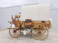 Horse Drawn Wagon Chuck Wagon Farm Wagon Western Wagon Wood Wheels | eBay