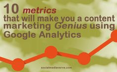 10 metrics that can make you a content marketing genius using Google Analytics