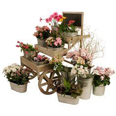 Pretty Planter Cart.