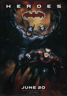 VTG~90/'s 1995 Batman Forever Movie T-Shirt Robin Riddler DC Comics RePrint
