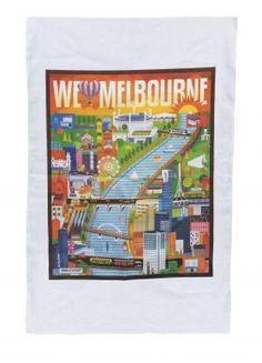 For all of you Melbourn-ites. Tea Towels, Melbourne Australia, Ua, Attitude, Dish Towels, Flour Sack Towels