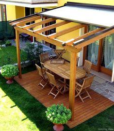 45+ Affordable Covered Pergola Design Ideas