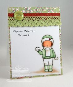 PI Warm Winter, PI Holiday Hugs - Michele Boyer #mftstamps