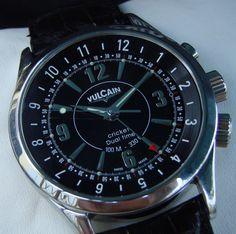 Vulcain Cricket Dual Time #bremont Swiss Watchmakers #horlogerie #vulcain @calibrelondon