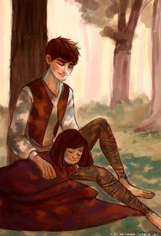 """Just close your eyes. The sun is going down. You'll be alright. No one can hurt you now. Come morning light. You and I will be safe and sound."" - ROTG - Jack and Emma Overland"