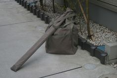 Kendo bogu bag & shinai bag by isenokami You can buy from http://isenokami.jp/