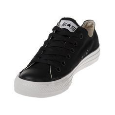 The Converse Chuck Taylor Spec Black/White Low Tops are a basic yet bold  shoe, with an all black canvas upper, white Converse rubber outsole and  vulcanized ...