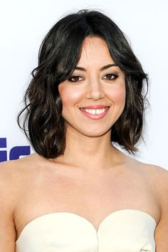 1 Hairstyle, 9 Ways: The Bob That Goes With Everything #refinery29 http://www.refinery29.com/bob-hairstyles#slide3 In our opinions, Aubrey Plaza is a perfect example of why every woman should try going shorter at some point in her lives — while the Parks and Recreation star looked super-cute with long hair, we think her short cut suits the actress' features even better. Do you agree? @gtl_clothing #getthelook http://gtl.clothing