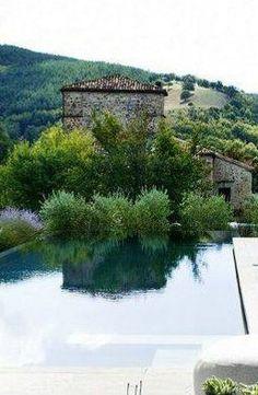 stone villa | pool