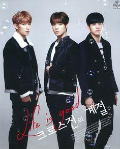 Cross Gene - Seyoung, Yongseok, Sangmin ♥